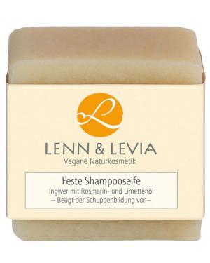 Festes Shampoo mit Ingwer u. Rosmarin